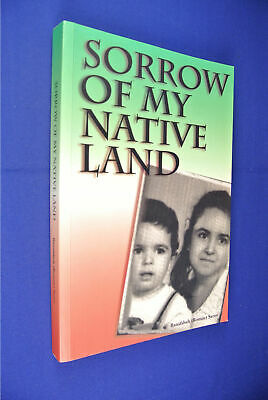 SORROW OF MY NATIVE LAND Bonnie Banafsheh Serov IRAN IRANIAN AUSTRALIAN signed
