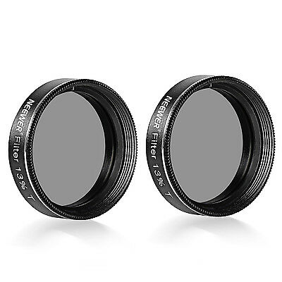 Neewer 2-Pack 1.25 inch Neutral-Density 13 Percent Transmission Moon Filters