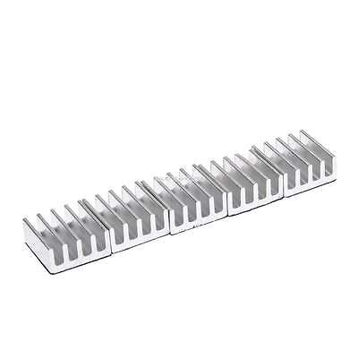 High Quality 5pcs 11x11x5mm Aluminum Heat Sink For Memory Chip IC EN24H