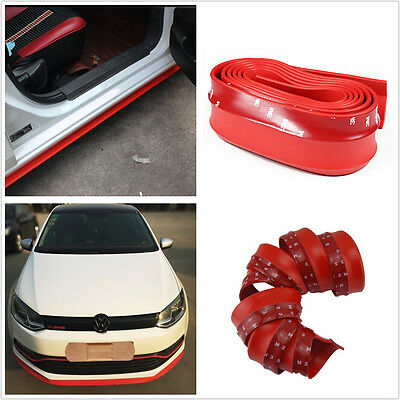 SIDE Lip SKIRTS SPOILER BODY KIT WING VALANCE ROCKER PROTECTOR FOR MOST CAR SUV