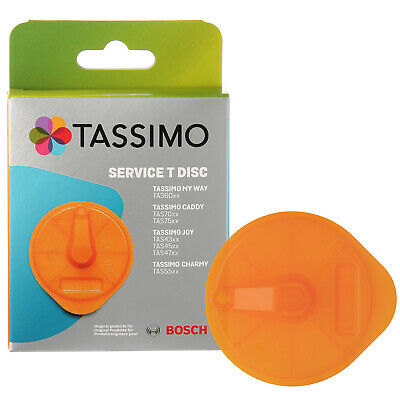 Genuine Bosch Tassimo Coffee Descaler Service T-Disc Cleaning Disc 00576837
