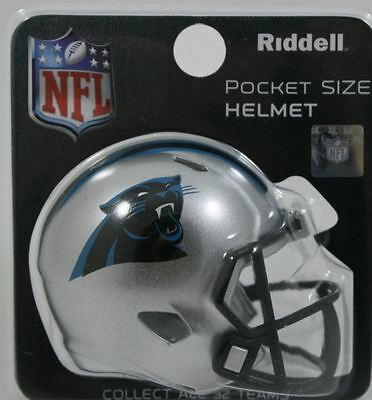NEW NFL American Football Riddell SPEED Pocket Pro Helmet CAROLINA PANTHERS