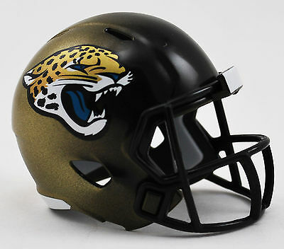 NEW NFL American Football Riddell SPEED Pocket Pro Helmet JACKSONVILLE JAGUARS
