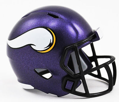 NEW NFL American Football Riddell SPEED Pocket Pro Helmet MINNESOTA VIKINGS
