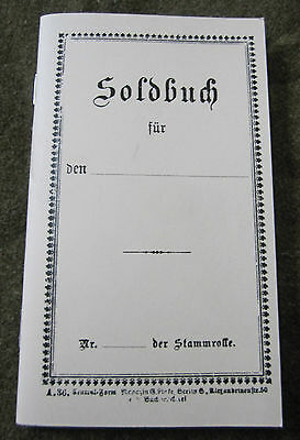 E8C Wwi Imperial German Austria Infantry Papers Solbuch
