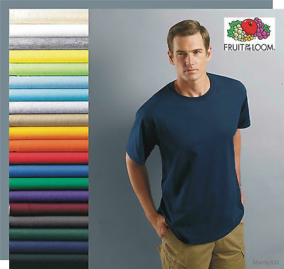 25 T-SHIRTS BLANK BULK LOTS Colors or 120 White Plain S-XL Wholesale 50