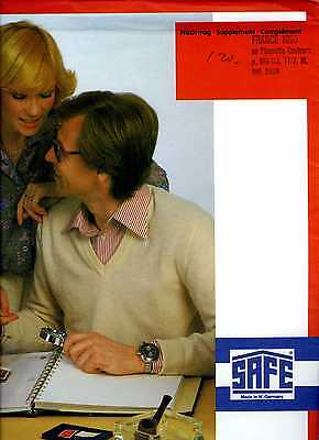 France 1990  Feuilles Complementaires Safe