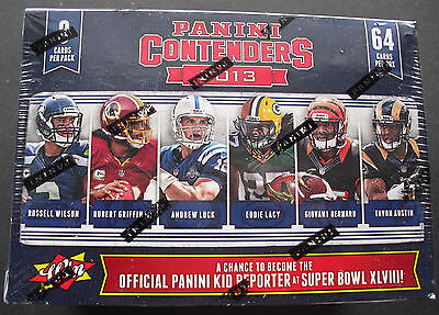 NFL Panini Contenders 2013 Football 8-Pack Box Sealed/OVP