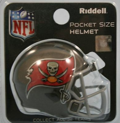 NEW NFL American Football Riddell SPEED Pocket Pro Helmet TAMPA BAY BUCCANEERS