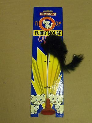 Classic Tip Top Furry Mouse Cat Toy
