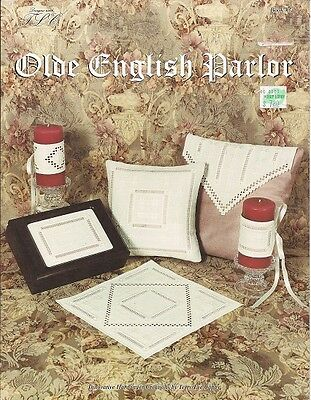 OLDE ENGLISH PARLOR.. Innovative HARDANGER Creations by Terry Lee Capps