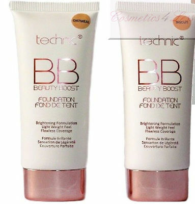 Technic BB Cream ~ Beauty Boost Foundation in Biscuit or Oatmeal.