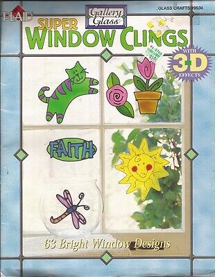 SUPER WINDOW CLINGS with 3D Effects GALLERY GLASS BOOK
