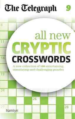 The Telegraph: All New Cryptic Crosswords 9 (The Telegr - Paperback NEW THE TELE