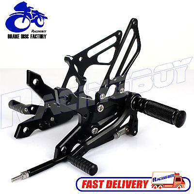 CNC Adjustable Rearsets Rear Sets KAWASAKI Z 750 Z750 2007-2013 Z1000 2007-2010