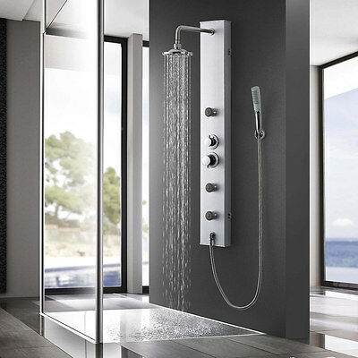 Neu.holz Shower Panel With Pages-Shower Rain Shower Shower-Set Column Fitting