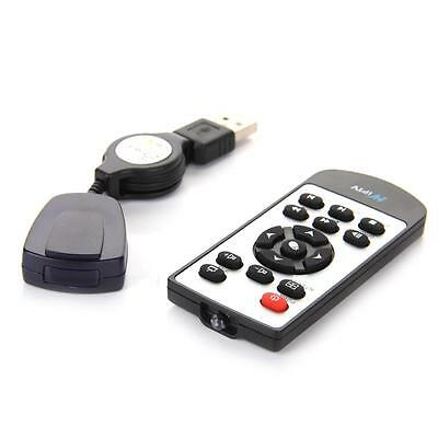 USB Remote Control Media Center Controller with USB Receiver PC Laptop