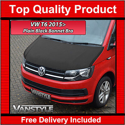 Vw T6 Caravelle 2015+ Bonnet Bra Top Quality / Fit Protector Cover Stone Guard