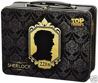 Sherlock Top Trumps Collectors Tin - NEW