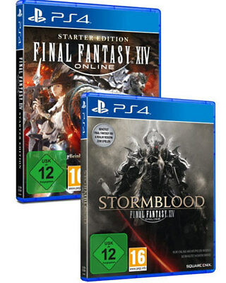 Sony PS4 Playstation 4 Spiel Final Fantasy XIV 14 A Realm Reborn + Stormblood