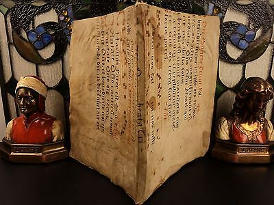 15thc Medieval Chant Manuscript BINDING 1717 Catholic Papal Appeals POPE Clement