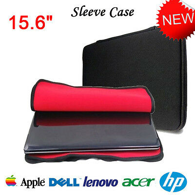 15.6'' Notebook Laptop Sleeve Bag Pouch Case Cover For Apple Macbook Pro UK