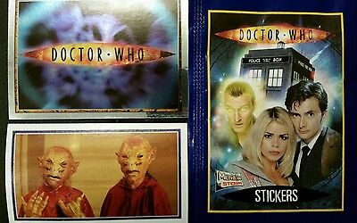 Dr Who Full Set Of Stickers X208