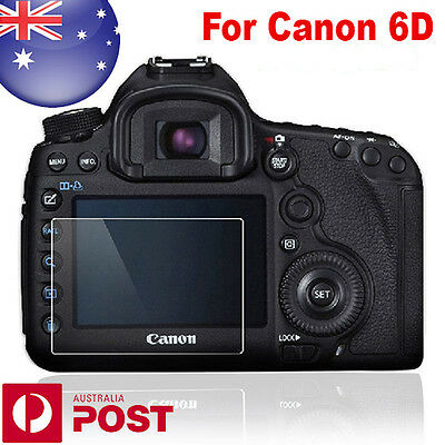 QUALITY - Optical Glass Rigid LCD Screen Protector Canon EOS 6D Camera - Z562
