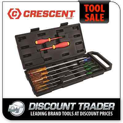 Crescent 13 Piece Industrial Screwdriver Set - CSD13