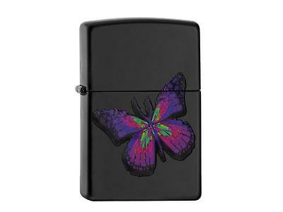 """ZIPPO """"BUTTERFLY"""" BLACK COLOR LIGHTER / 60002159 ** NEW in BOX **"""