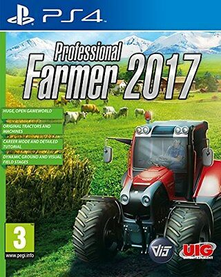 Professional Farmer 2017 - The Simulation (PS4) [NEW GAME]