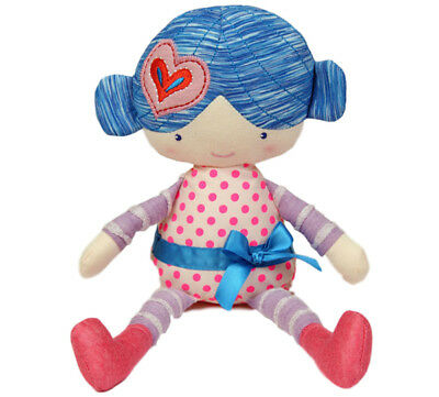 "Rag Doll soft toy quirky doll toy Amy 10""/25cm by Alluring NEW"