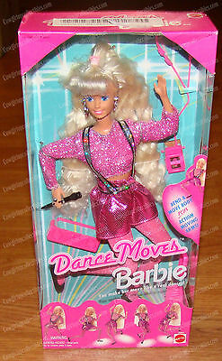 13083 - Dance Moves Barbie Doll (Mattel, 1994) Bend & Move, Action Moving Arms