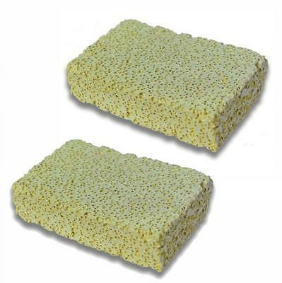 Aquarium Fish Tank Ceramic Filter Media Porous Block Rectangle Slab 13 x 8 x 3cm