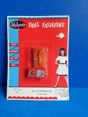 Vintage Doll Accessory In Package- Purse & Radio For Barbie Tammy, Etc
