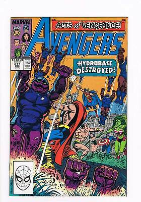 Avengers # 311 The Weakest Point ! grade - 9.0 scarce hot book !!