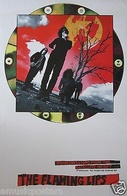 "Flaming Lips ""transmissions From The Satellite Heart"" U.s. Promo Poster"