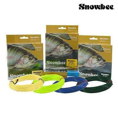 Snowbee Classic Fly Lines Wf Floating Or Intermediate  5 6 7 8 Fly Line *cf*