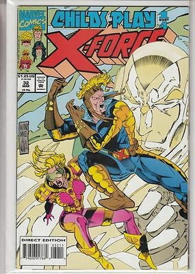 X-Force #32 - Child's Play 1 : Marvel