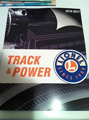 Lionel 2016-17 Track and Power Catalog NEW RELEASE