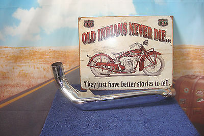 """Crossover Exhaust """"Genuine"""" Indian Take-Off  Fits Roadmaster Chief Chieftain Q4"""