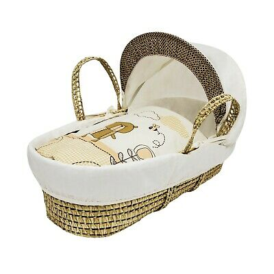 Beary Nice Cream Palm Moses Basket