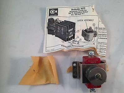 Cutler Hammer Bulletin 9575 Type CF Magnetic Relay 9575H2458 Mechanical Latch
