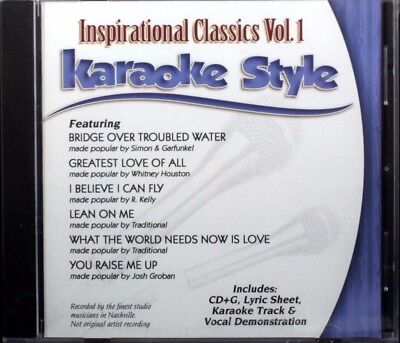 Karaoke Entertainment Active Contemporary Christian Hits Volume 4 New Karaoke Style Cd+g Daywind 6 Songs