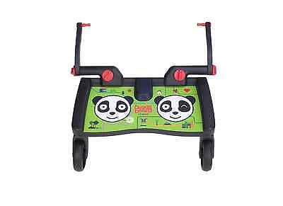 Lascal Maxi BuggyBoard - Panda City - Green - BRAND NEW In Box