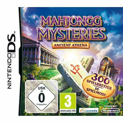 Mahjongg Mysteries - Ancient Athena Nintendo Ds / Lite/Dsi / XL New Boxed