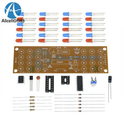Detonation Flashing Light DIY Kit for Red Blue LED Dual-Color