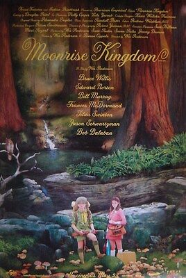 Moonrise Kingdom / Original D/s One-Sheet Movie Poster (Wes Anderson)