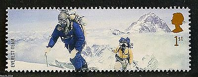 Members of the 1953 Everest team illustrated on 2003 stamp - Unmounted Mint