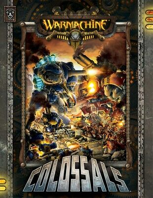 Warmachine: Rules & Accessories - Colossals Book